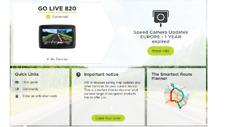 TOMTOM GO LIVE 820 UK MAPS sat navi gps  BARGAIN NO 15