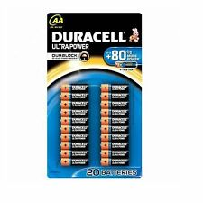 Duracell Ultra Power 20 AA Batteries + Tester