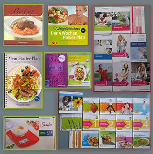 Weight Watchers Bücher Starterset Einkaufsführer DVD Points Waage u.v.m.