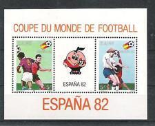 Football Zaire Block 40 WM 1982 Spain