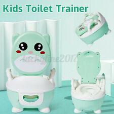 Baby Pot Toilet Seat Children's Potty Training Toilet 2 In 1 Home Outdoor Gift