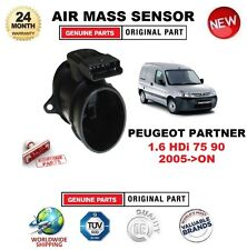 FOR PEUGEOT PARTNER 1.6 HDi 75 90 2005-ON AIR MASS SENSOR 5-PIN with HOUSING