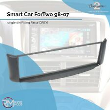 CT24MM03 Smart Car ForTwo 98-07 Single Din Car Stereo Fitting Facia GREY