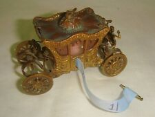 Rare & Fabulous! Vintage Figural Cinderella Carriage Sewing Tape Measure