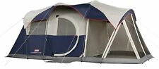 Tent Camping Coleman Elite WeatherMaster Family Screened Porch LED Lighting