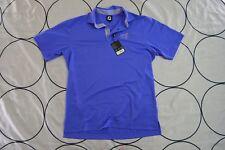 🔥NEW FootJoy Performance Tulalip Golf Solid Polo Shirt Purple Medium M🔥B2-078