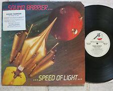 Sound Barrier – speed of light vinyl LP METAL Blade records – MBR 1057