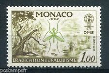 MONACO 1962, timbre 579, INSECTES, ANOPHELE, PALUDISME, neuf**