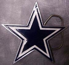 NFL Pewter Belt Buckle Dallas Cowboys NEW