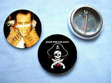 Adam and the Ants 2 badge set Bow Wow Wow Sex Pistols