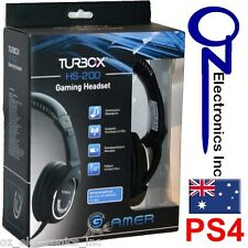 Wireless Headset for Playstation 4 PS4 gaming chat force mic chat stereo NEW