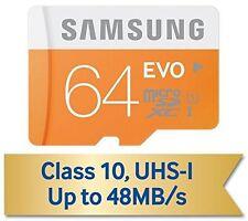 Cartes mémoire Samsung pour téléphone mobile et assistant personnel (PDA), 64 Go