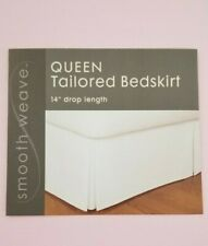 Smooth Weave Pink Tailored Queen Bedskirt Bed Skirt NIP