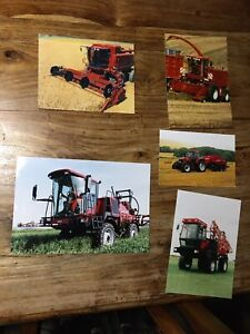 Case IH SP sprayer Mammut forager 2388 Axial Flow combine tractor brochure photo
