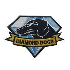 Metal Gear Solid Diamond Dogs Patches ARMY MORALE embroidery HOOK PATCH