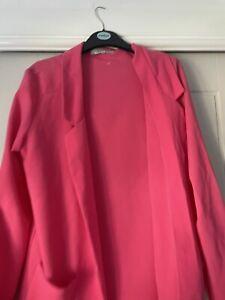 hot pink blazer Size 10
