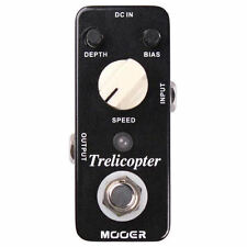 New Mooer Trelicopter Optical Tremolo Micro Guitar Effects Pedal True Bypass!