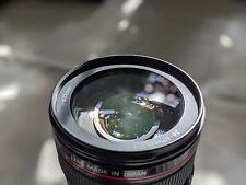 Canon EF 24-105mm F4 L USM Image Stabilizer Zoom Lens + Front & Rear Caps