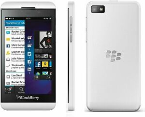Blackberry Z10 | AT&T | GSM Unlocked | 16GB | White | STL100-3 | Replaced Back
