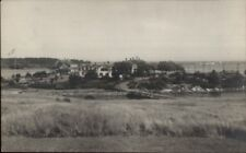 Cape Porpoise ME General View BICKNELL c1915 Real Photo Postcard