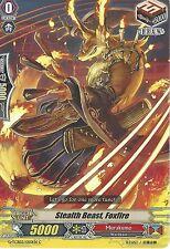 CARDFIGHT VANGUARD CARD: STEALTH BEAST, FOXFIRE - G-TCB02/050EN