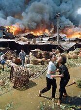 Vietnam War Saigon Burning Tet Offensive 1968 Amazing 8.5x11 Photo