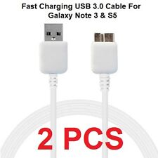 2PCS Samsung Galaxy Note 3 S5 Cable, Micro USB Data Sync Fast Charging