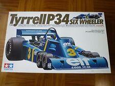 Rare Tamiya 1/12 Tyrrell P34 Six-Wheeler Big scale F1 Plastic Model Kit