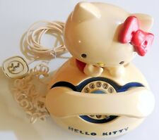 VINTAGE TELEPHONE PHONE FIGURE  HELLO KITTY MADE IN JAPAN SANRIO 1976 ハローキティ