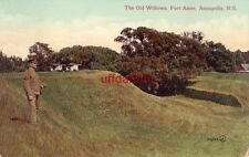 THE OLD WILLOWS FORT ANNE ANNAPOLIS NOVA SCOTIA CANADA