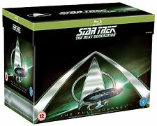 Star Trek: The Next Generation Season 1-7 Blu Ray Box Set - New Free Shipping