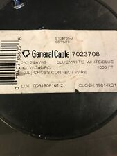 General Cable 7023708 1000ft cross connect wire. cw