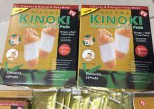 YES!NEW PREMIUM Kinoki Foot Patch ginger+salt (x20 DETOX pads) ship fr Malaysia
