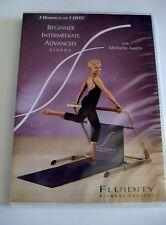 Fluidity Fitness Beginner Intermediate Advanced 3 workouts 1 DVD Michelle Austin