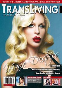 TRANSLIVING 48 Magazine Transgender, Non-Binary, X-Dress, Transvestite Lifestyle