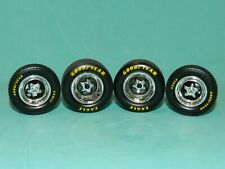 GMP Parts Dept. 1/18 Pro Star 5 Spoke Drag Wheel & Tyre Set Great for Diorama