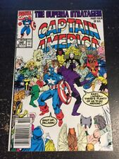 Captain America#390 Incredible Condition 9.0(1991) Paladin,Ron Lim Cover!!