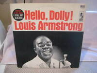 """LOUIS ARMSTRONG & THE ALL STARS HELLO DOLLY 1964 12"""" JAZZ VINYL LP ALBUM RECORD"""