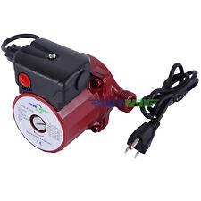 120V,NPT 3/4'' Hot Water Circulation Pump 3-Spd Domestic Shower Circulator Pump