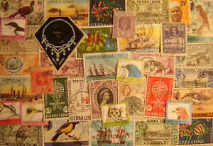 Sierra Leone 50 Different Used
