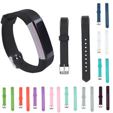 Luxury Replacement Soft Silicone Classic Wrist Watch Band Strap for Fitbit Alta