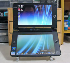 TOSHIBA LIBRETTO W100 DUAL TOUCH SCREEN INTEL U5400 1.2GHz 2GB RAM 62GB SSD RARE
