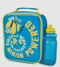 Minions - School Lunch Bag And Bottle set