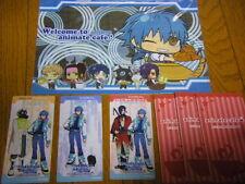 RARE DRAMAtical Murder Animete Cafe Clear Folder SET Aoba Noiz Ren Koujaku DMMD