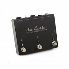 de Lisle ABC Transformer ISOLATED Guitar Amp Switch Signal Splitter Pedal