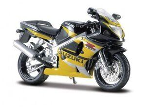 MAISTO Suzuki GSX R600 MOTORCYCLE 1:18 BIKE DIECAST MODEL TOY NEW IN BOX