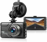 "Dash Cam Full HD 1080P DVR Dashboard Camera  3"" LCD Screen Night Vision"