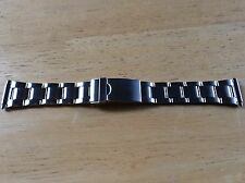 NEW Kreisler WATCH BAND BRACELET - Stainless Steel HEAVEY DUTY Adj 16-22mm 399W