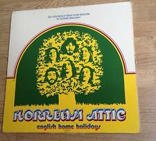 LP 33 tours HORREUM ATTIC English home holidays folk prog  VG++