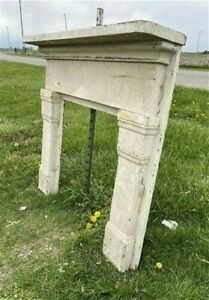 Antique Fireplace Mantel Surround, Architectural Salvage, Victorian Rustic, A116